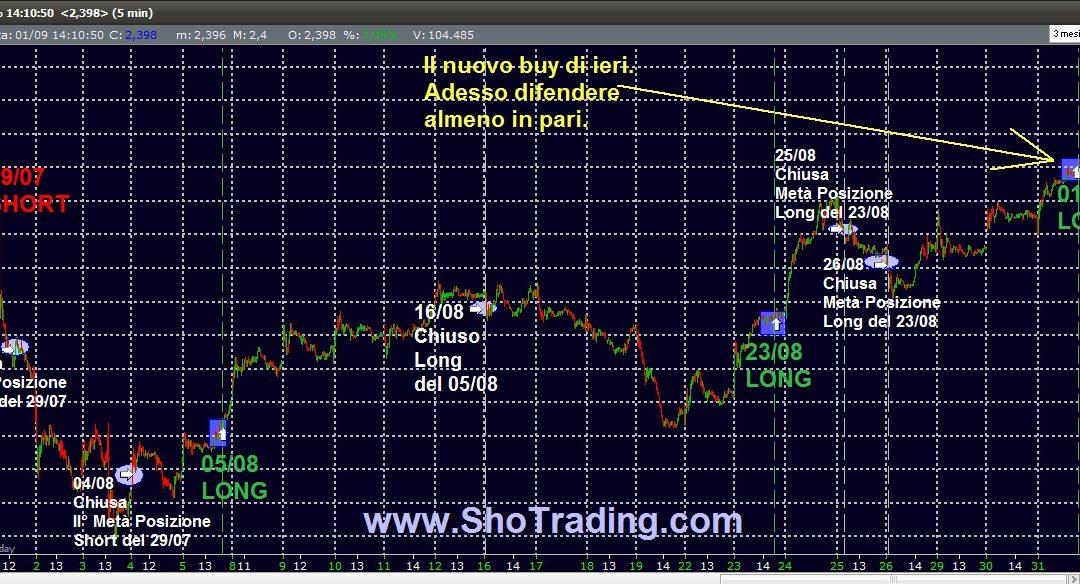 "Trading metodico ""mordi e fuggi"" su UCG"